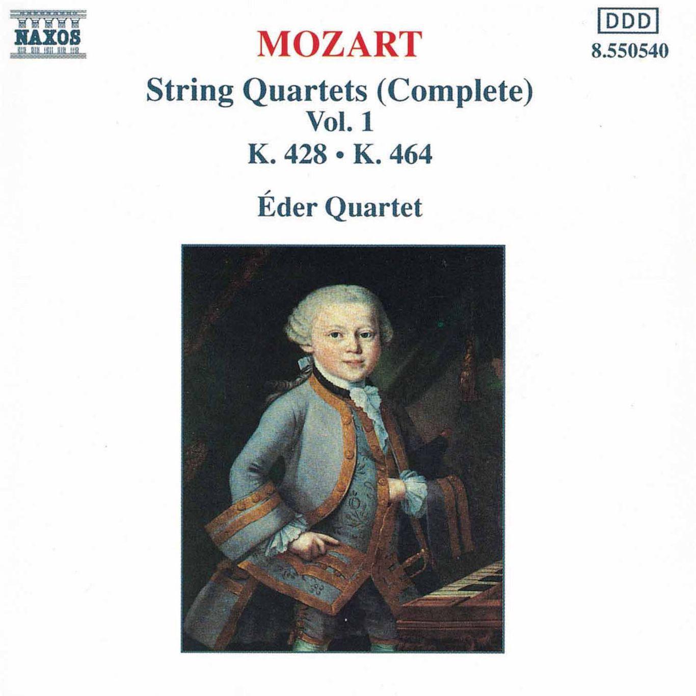 String Quartet No  16 in E-Flat Major, K  428 - II  Andante con moto