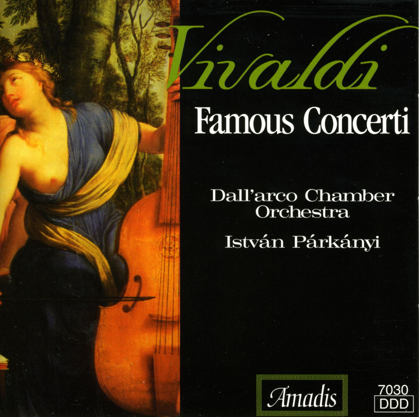 Chamber Concerto in D Major, RV 93 (arr  for lute and